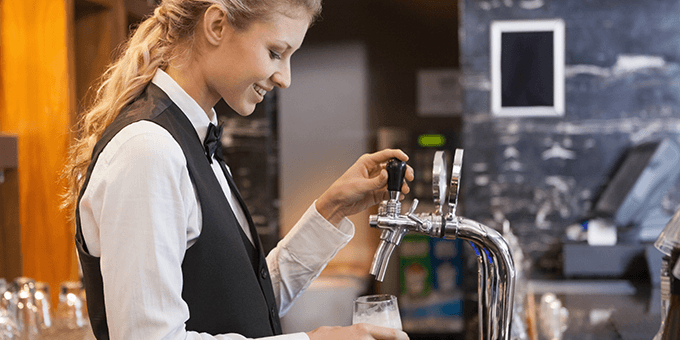 Integrated EPOS helps minimise beer losses