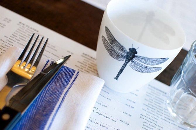 Artisan cup close up